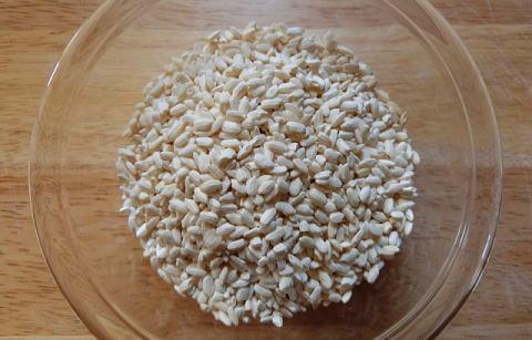 甘酒の材料となる米麹
