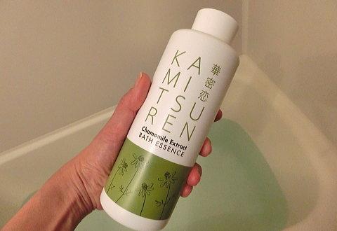 保湿効果の高いカモミールの入浴剤・華密恋(カミツレ)薬用入浴剤