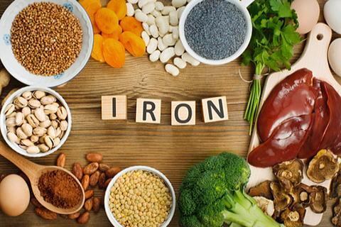 鉄分豊富な食べ物の写真