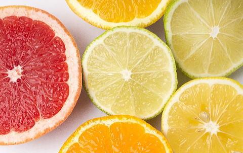 ビタミンC豊富な柑橘類