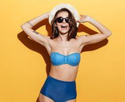 体型をカバーできる水着を選べば、アラフォー女性の水着姿が若返る!