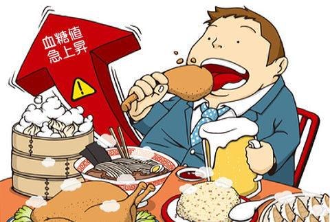血糖値を急激に上げる食べ方が肥満の原因に…。