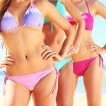 胸が小さい人の水着の選び方~通販で人気の盛れる水着はこれ!
