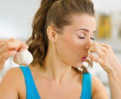 ニンニクを食べた後の体臭には要注意!