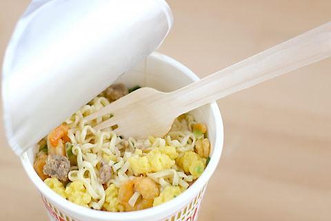 塩分が非常に多いカップ麺