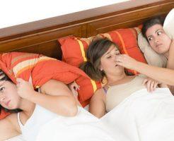 うるさいいびきの音に眠れない女友達・・・これじゃ友達と旅行に行くのも心配ですよね。