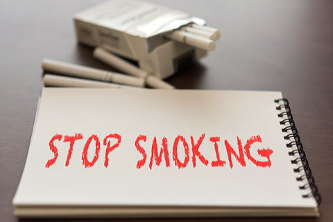 喫煙ストップ宣言しました!