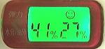 FUWARIを1箱飲み終えた後の肌チェッカーの数値
